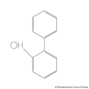 2D structural formula of 2-Phenylphenol